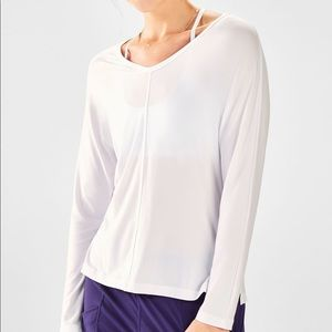 Fabletics Lydia Side Slit L/S Tee